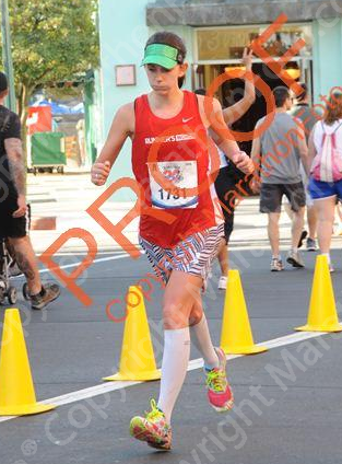 Lesson: The smell of hot dogs at mile 23 is enough to make you almost barf.