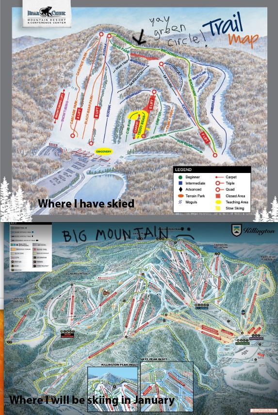ski diagram