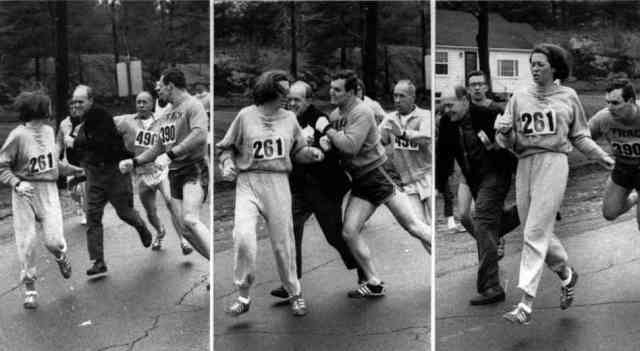 I had visions of myself as Kathrine Switzer.